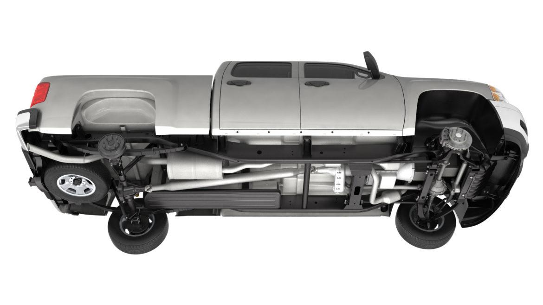generic crew cab pickup truck 17 3d model 3ds max fbx blend obj 320722