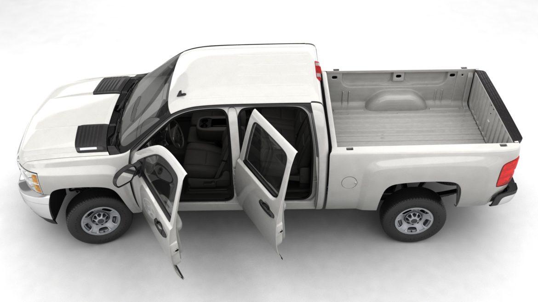 generic crew cab pickup truck 17 3d model 3ds max fbx blend obj 320723