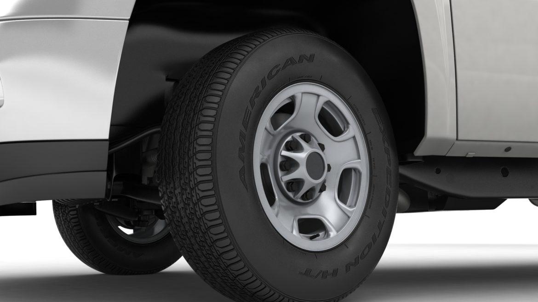 generic crew cab pickup truck 17 3d model 3ds max fbx blend obj 320724