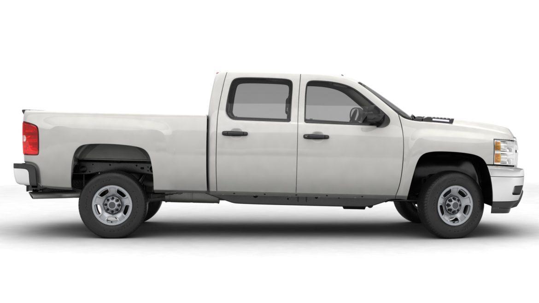 generic crew cab pickup truck 17 3d model 3ds max fbx blend obj 320727