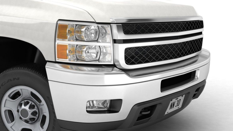 generic crew cab pickup truck 17 3d model 3ds max fbx blend obj 320729