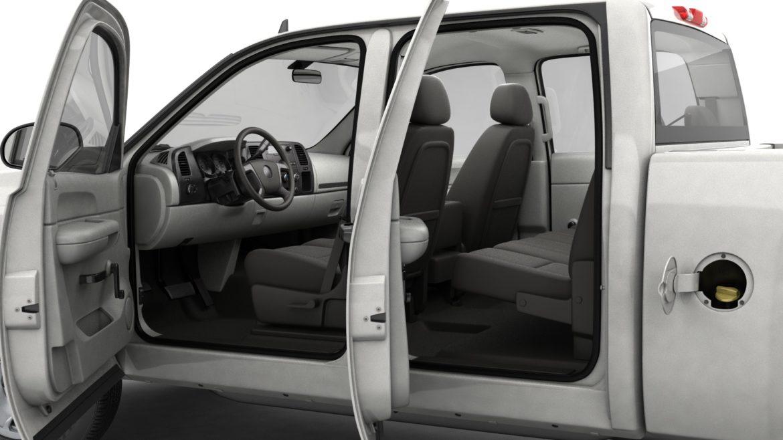 generic crew cab pickup truck 17 3d model 3ds max fbx blend obj 320730