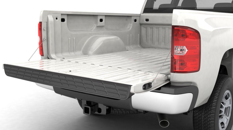 generic crew cab pickup truck 17 3d model 3ds max fbx blend obj 320731