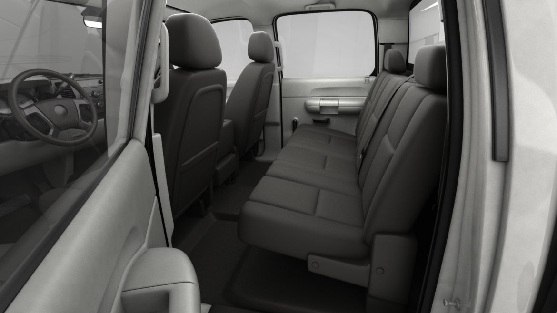 generic crew cab pickup truck 17 3d model 3ds max fbx blend obj 320732