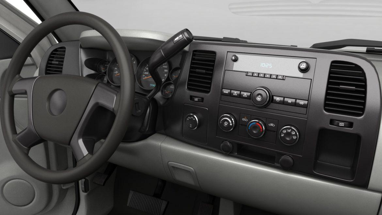 generic crew cab pickup truck 17 3d model 3ds max fbx blend obj 320735