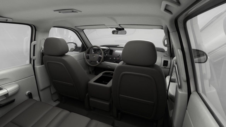 generic crew cab pickup truck 17 3d model 3ds max fbx blend obj 320737