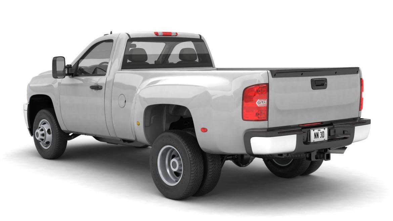 generic dually pickup truck 16 3d model 3ds max fbx blend obj 320797