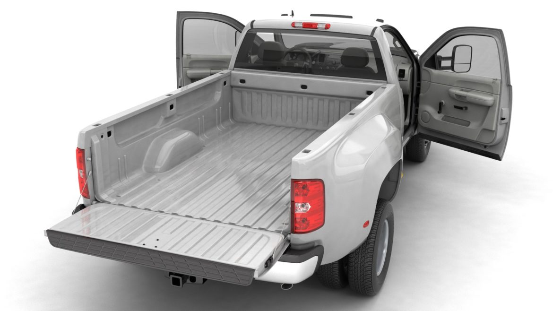 generic dually pickup truck 16 3d model 3ds max fbx blend obj 320798