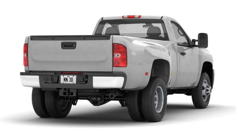 generic dually pickup truck 16 3d model 3ds max fbx blend obj 320799