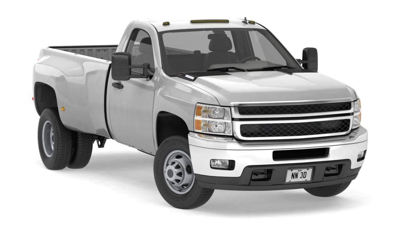 generic dually pickup truck 16 3d model 3ds max fbx blend obj 320800