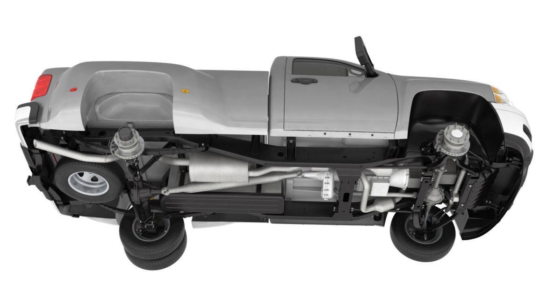 generic dually pickup truck 16 3d model 3ds max fbx blend obj 320802