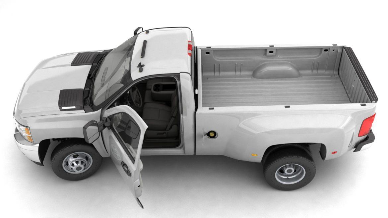 generic dually pickup truck 16 3d model 3ds max fbx blend obj 320804