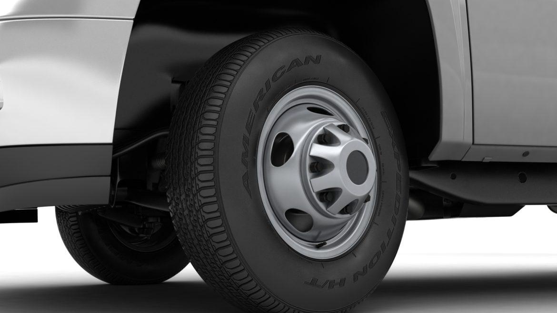 generic dually pickup truck 16 3d model 3ds max fbx blend obj 320805