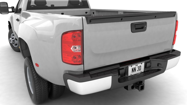 generic dually pickup truck 16 3d model 3ds max fbx blend obj 320806