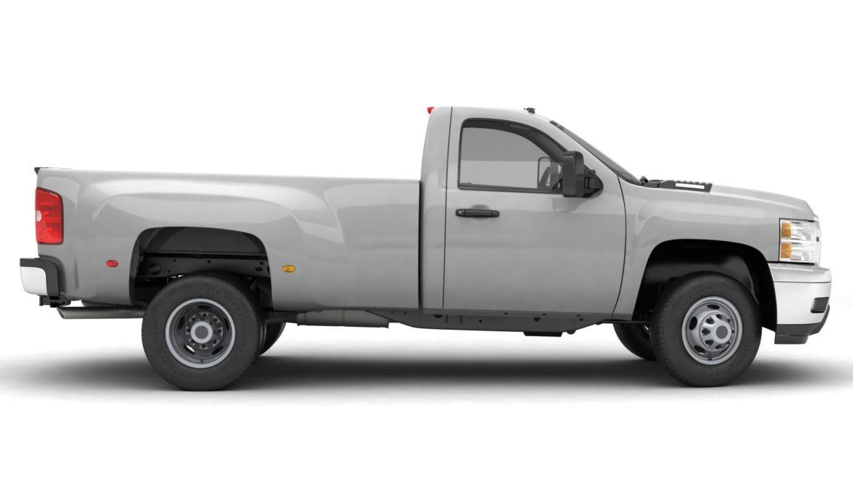 generic dually pickup truck 16 3d model 3ds max fbx blend obj 320809