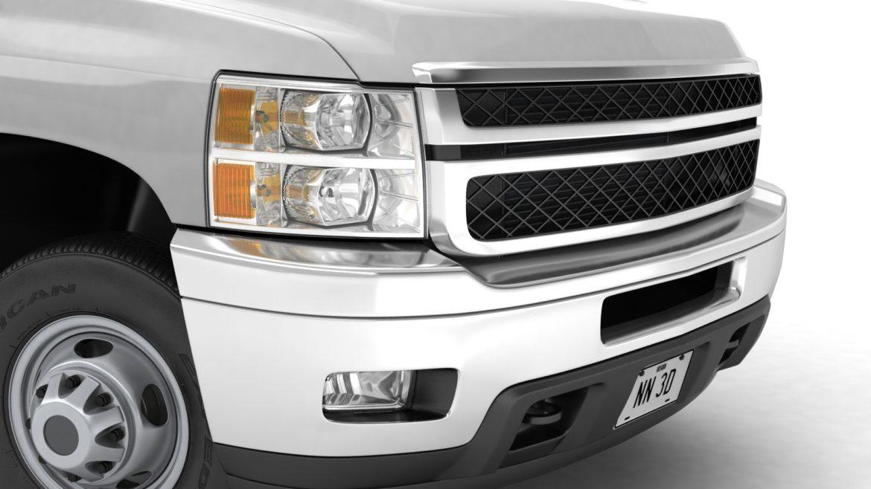 generic dually pickup truck 16 3d model 3ds max fbx blend obj 320811