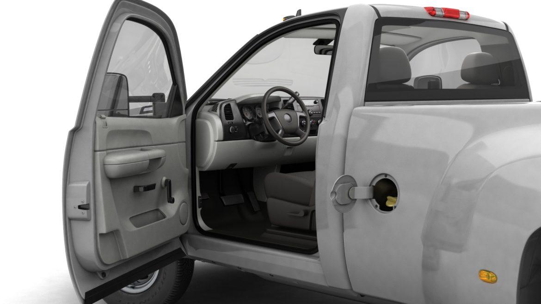 generic dually pickup truck 16 3d model 3ds max fbx blend obj 320812
