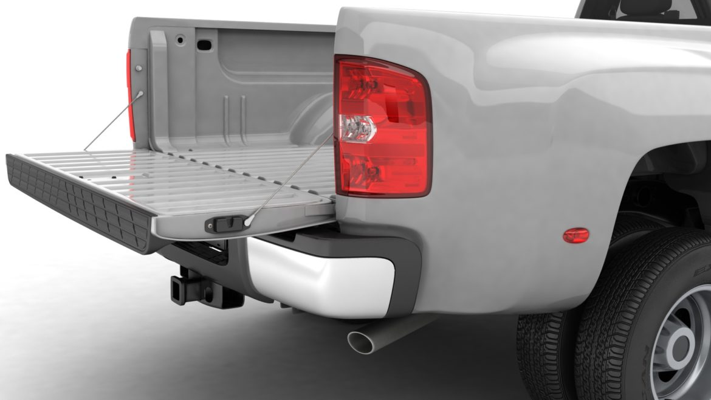 generic dually pickup truck 16 3d model 3ds max fbx blend obj 320813