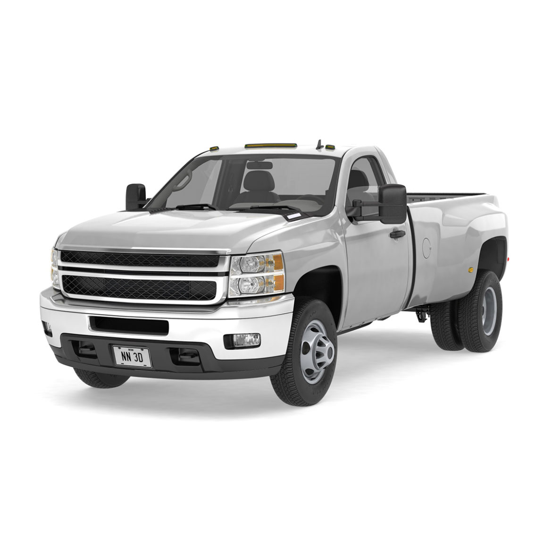 generic dually pickup truck 16 3d model 3ds max fbx blend obj 320825