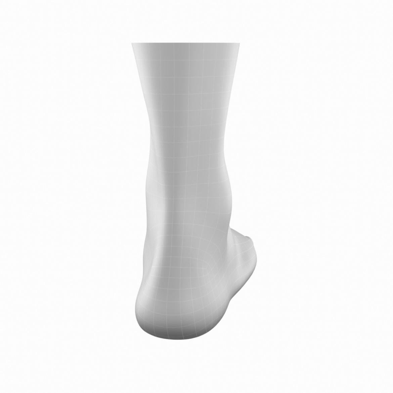 human feet in standing position base mesh 3d model 3ds max dxf dwg fbx blend c4d dae ma mb  obj ztl 320894