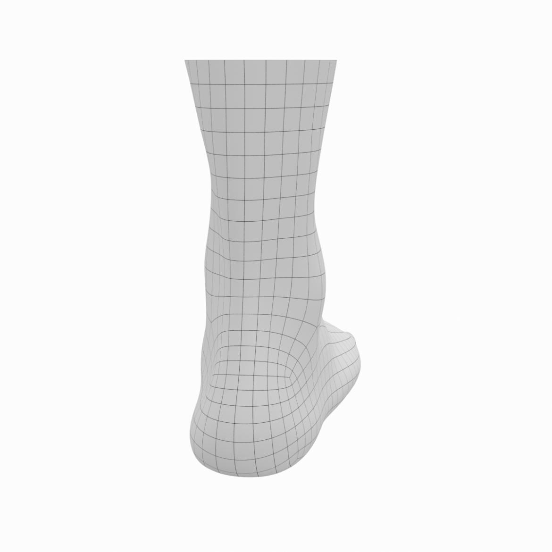 human feet in standing position base mesh 3d model 3ds max dxf dwg fbx blend c4d dae ma mb  obj ztl 320895