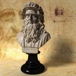 Leonardo da Vinci biustas 3D modelis max fbx obj 320944