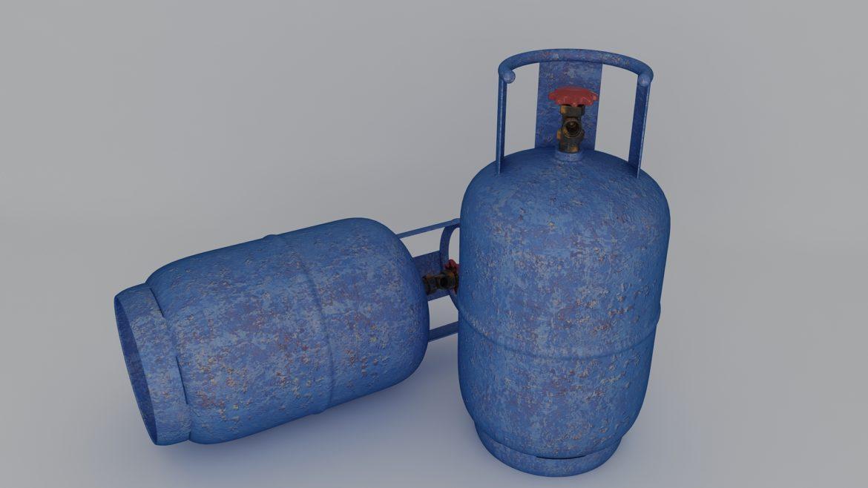 gas cylinder 3d model 3ds max fbx obj 321133