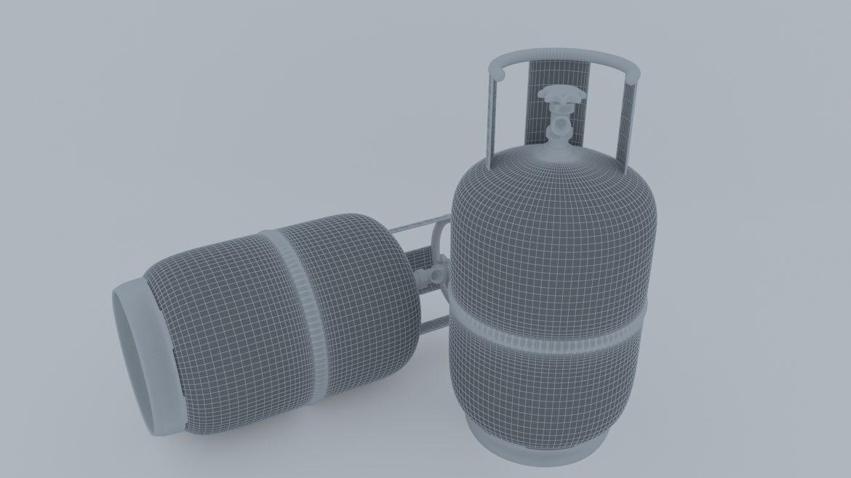 gas cylinder 3d model 3ds max fbx obj 321137