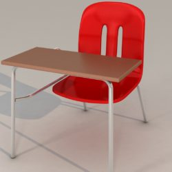 school chair 3d model 3ds max fbx obj 321150