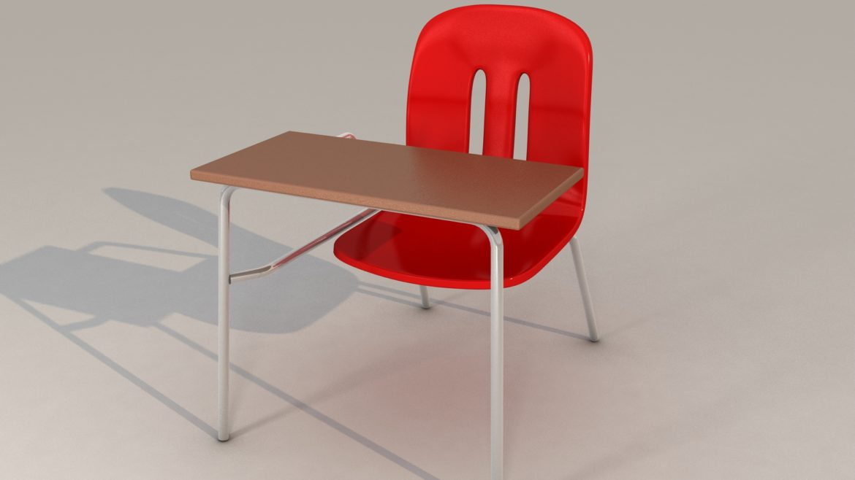 school chair 3d model 3ds max fbx obj 321150
