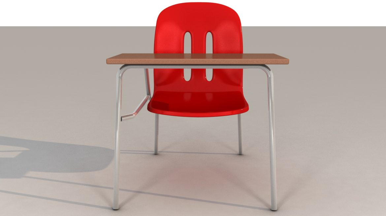 school chair 3d model 3ds max fbx obj 321151