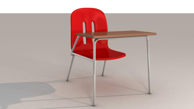 school chair 3d model 3ds max fbx obj 321153
