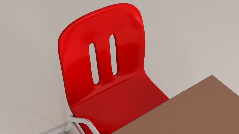 school chair 3d model 3ds max fbx obj 321154