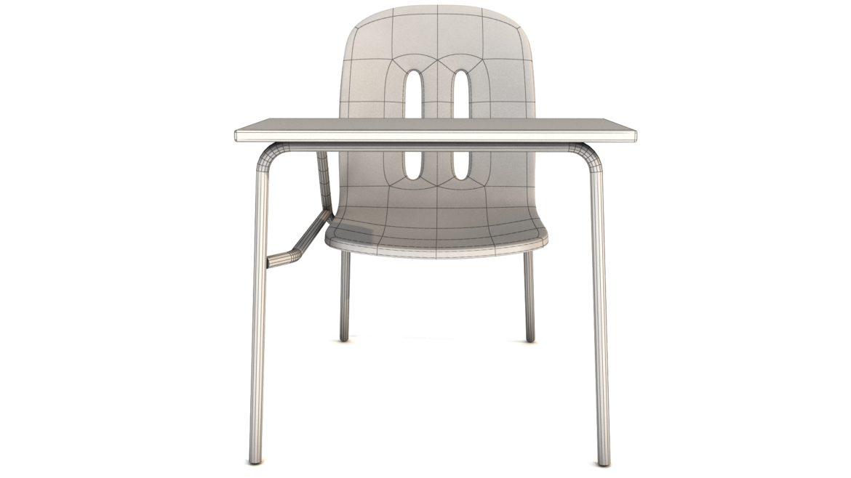 school chair 3d model 3ds max fbx obj 321158