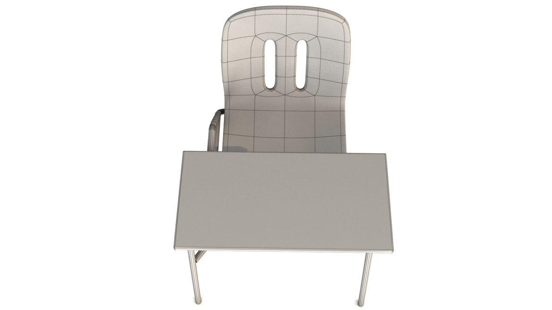 school chair 3d model 3ds max fbx obj 321159