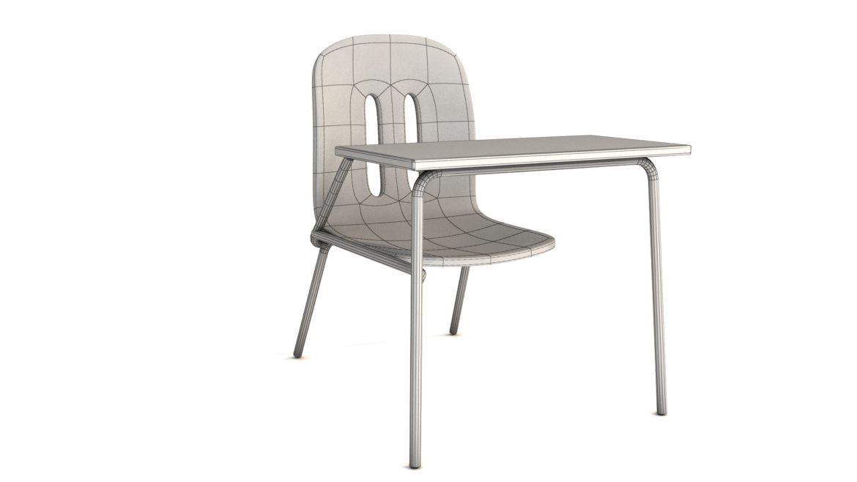 school chair 3d model 3ds max fbx obj 321160