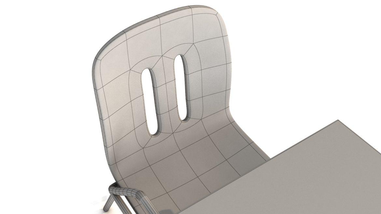 school chair 3d model 3ds max fbx obj 321161