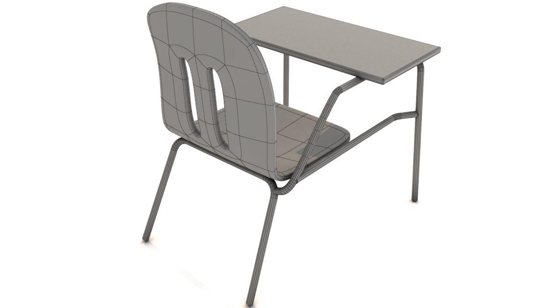 school chair 3d model 3ds max fbx obj 321162