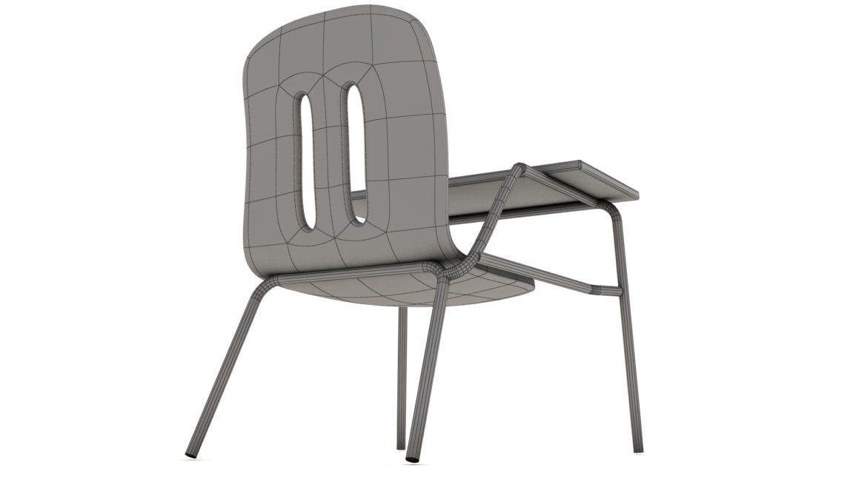 school chair 3d model 3ds max fbx obj 321163