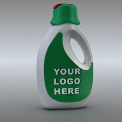 detergent liquid bottle 3d model 3ds max fbx obj 321193