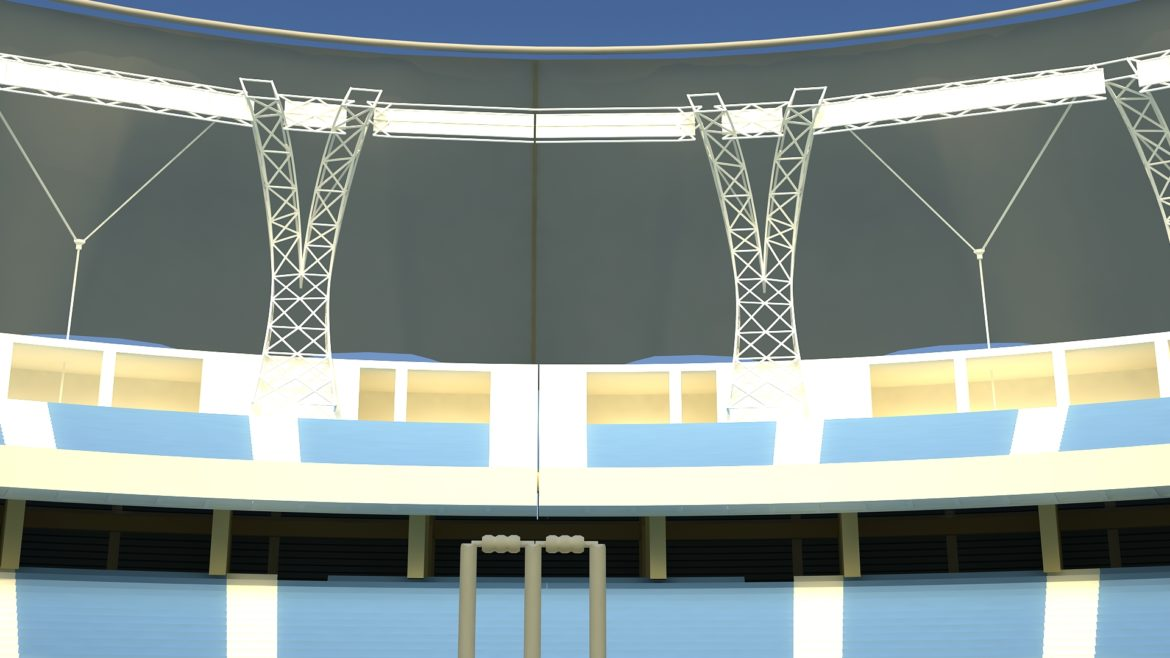 dubai cricket stadium 3d model 3ds max fbx obj 321216