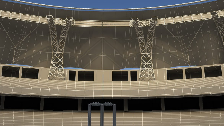 крикет стадион Дубай 3d модел 3ds max fbx obj 321224