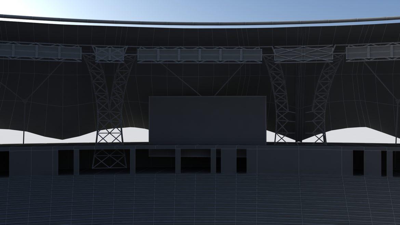 крикет стадион Дубай 3d модел 3ds max fbx obj 321225