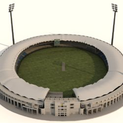 national cricket stadium 3d model 3ds max fbx obj 321263