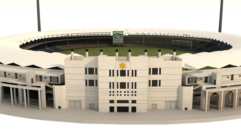 national cricket stadium 3d model 3ds max fbx obj 321265