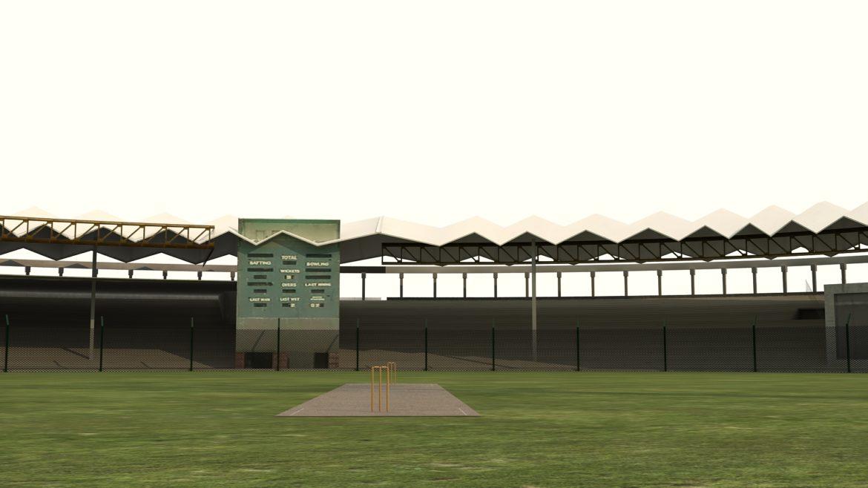 national cricket stadium 3d model 3ds max fbx obj 321268