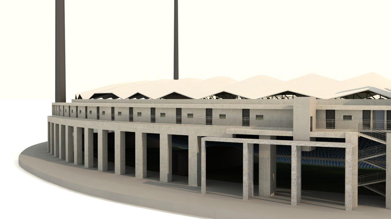 national cricket stadium 3d model 3ds max fbx obj 321272