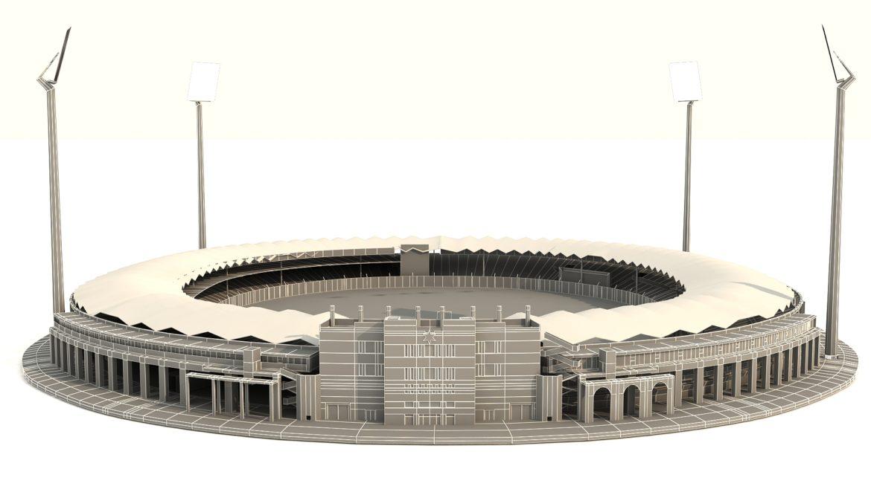 national cricket stadium 3d model 3ds max fbx obj 321275