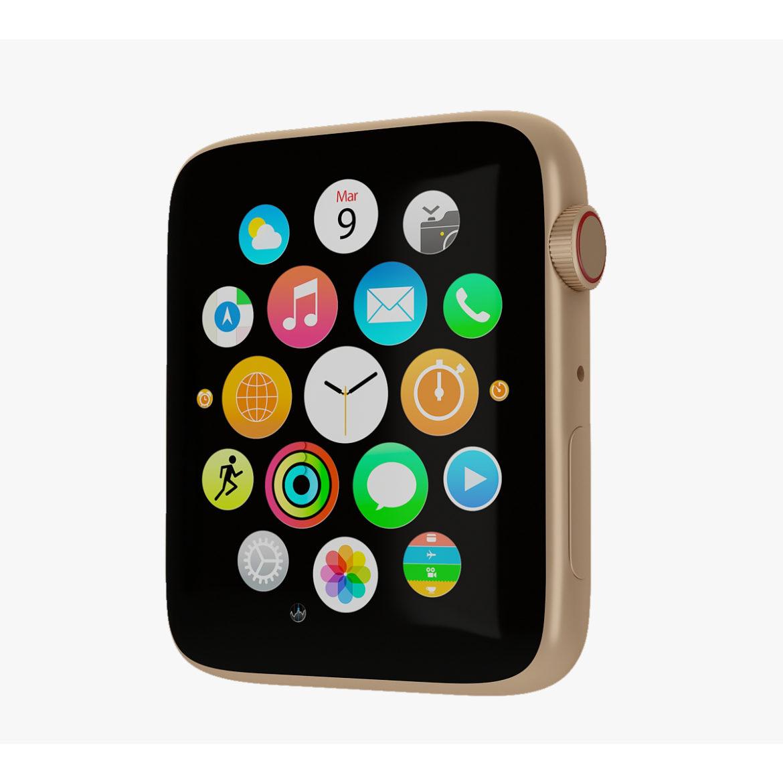 цифров часовник 3d модел 3ds max fbx obj 321290