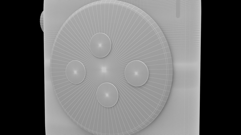 цифров часовник 3d модел 3ds max fbx obj 321301